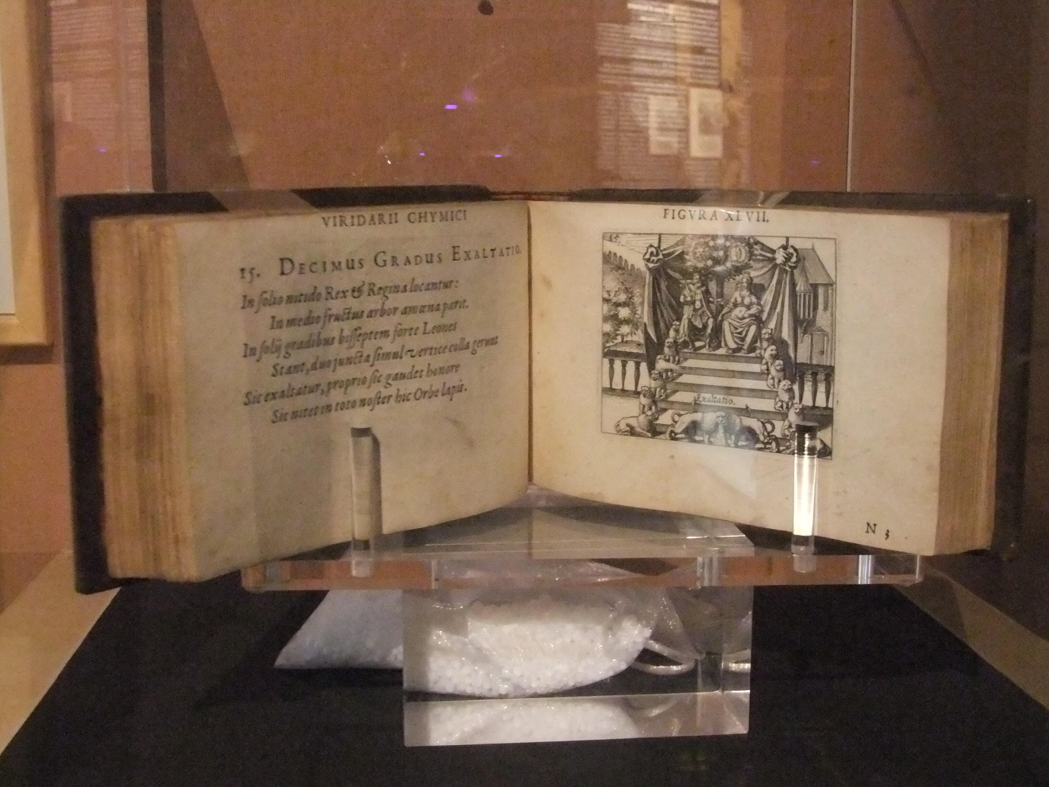 Daniel Stolz von Stolzenberg, Viridarium Chymicum, Francfort, 1624