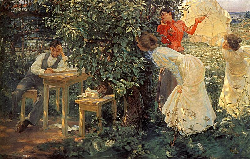 [Clio Team] 1897 Frantisek Kupka Le Bibliomane